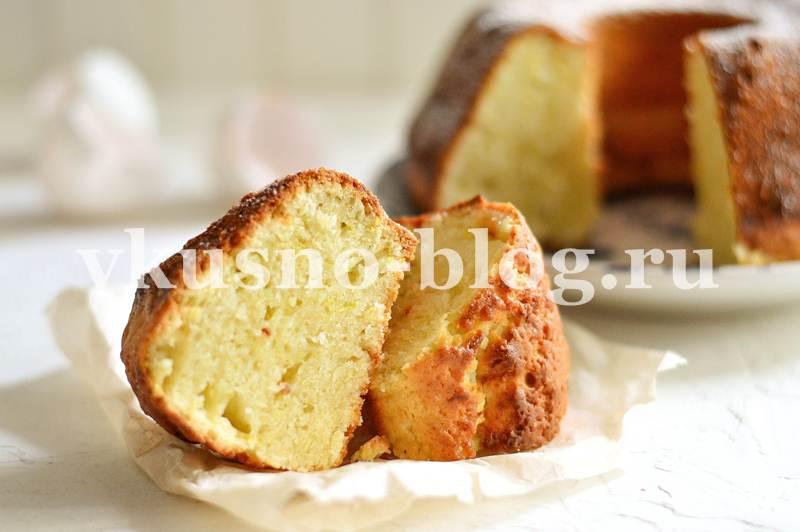 Пирог с кабачком сладкий рецепт