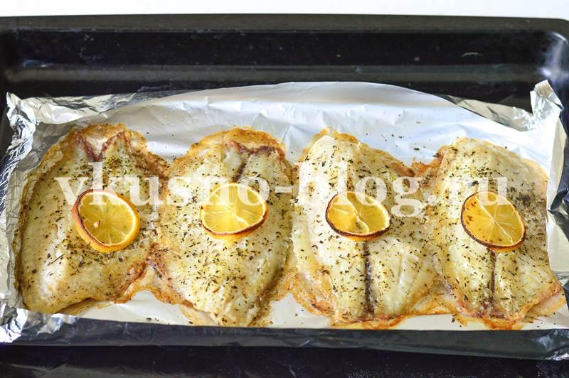 Запеченное филе тилапии в духовке