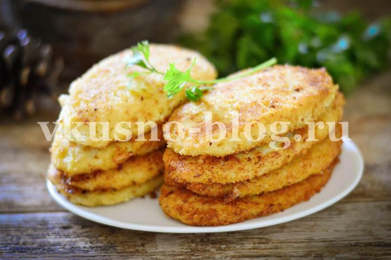 Котлеты из цветной капусты в сухарях - пошаговый рецепт
