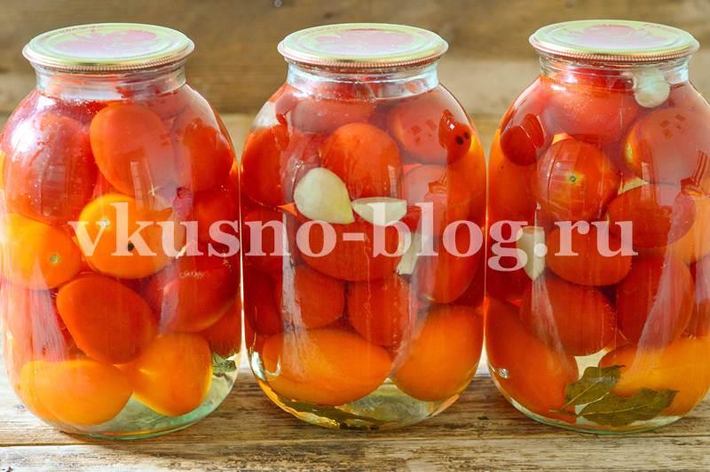 Сладкие маринованные помидоры на зиму по рецепту моей бабушки