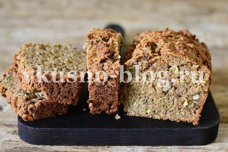 Сладкий цукини хлеб рецепт